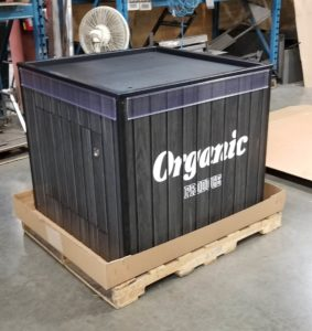 AWP Mobile Produce Ice Box Organic